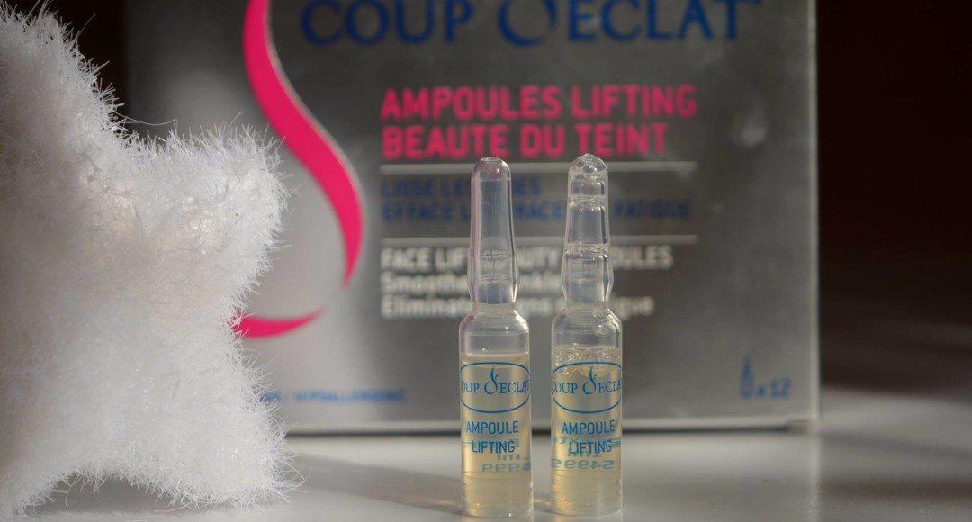 Asepta coup d 39 eclat ampoules lifting beaute du teint review beautybarometer - Coup d eclat ampoule lifting ...