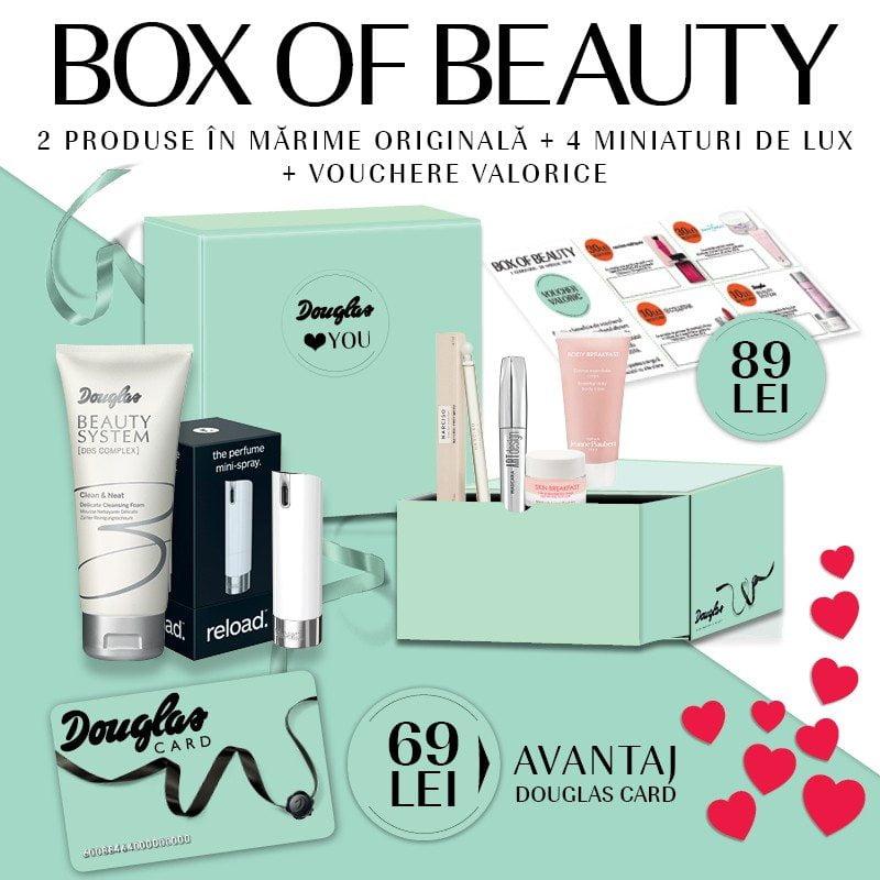 Douglas Box of Beauty februarie 2016
