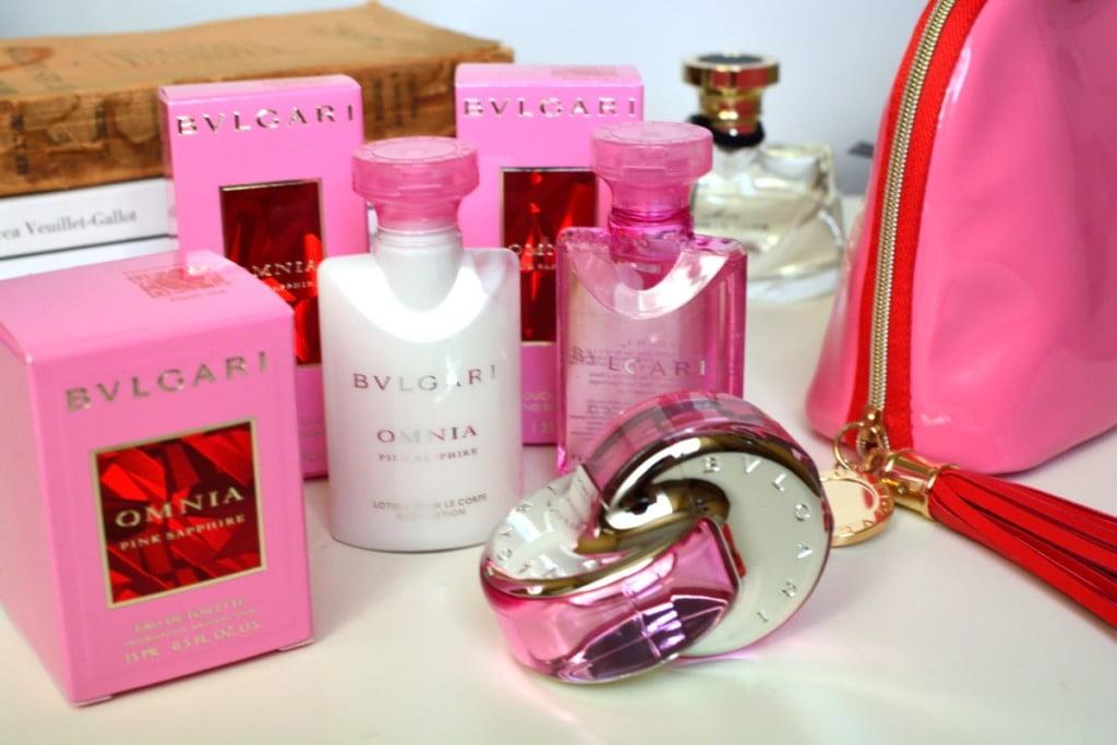 Bvlgari Omnia Pink Sapphire Noul Parfum Floral Bvlgari